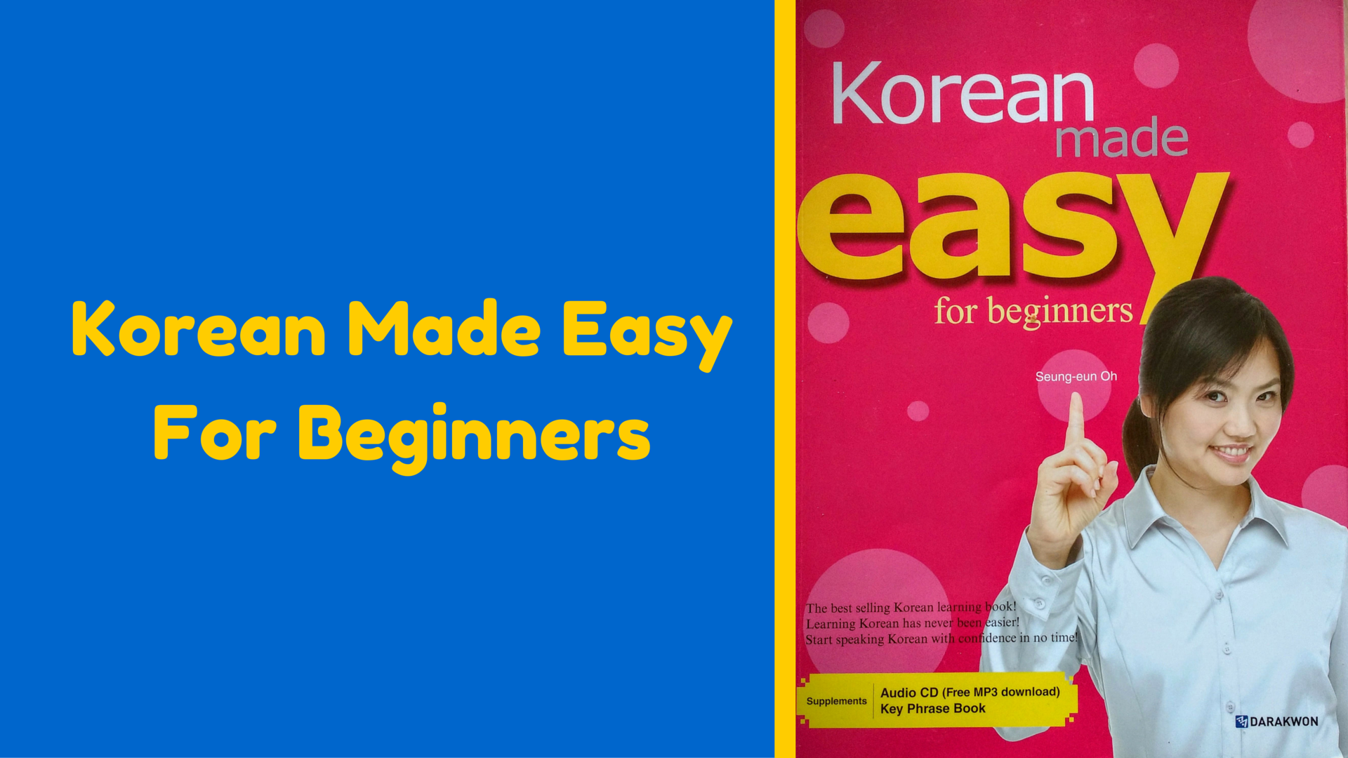 Korean Made Easy for Beginners - Hanhan Jabji