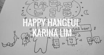 Shout Out: Happy Hangeul, Karina Lim
