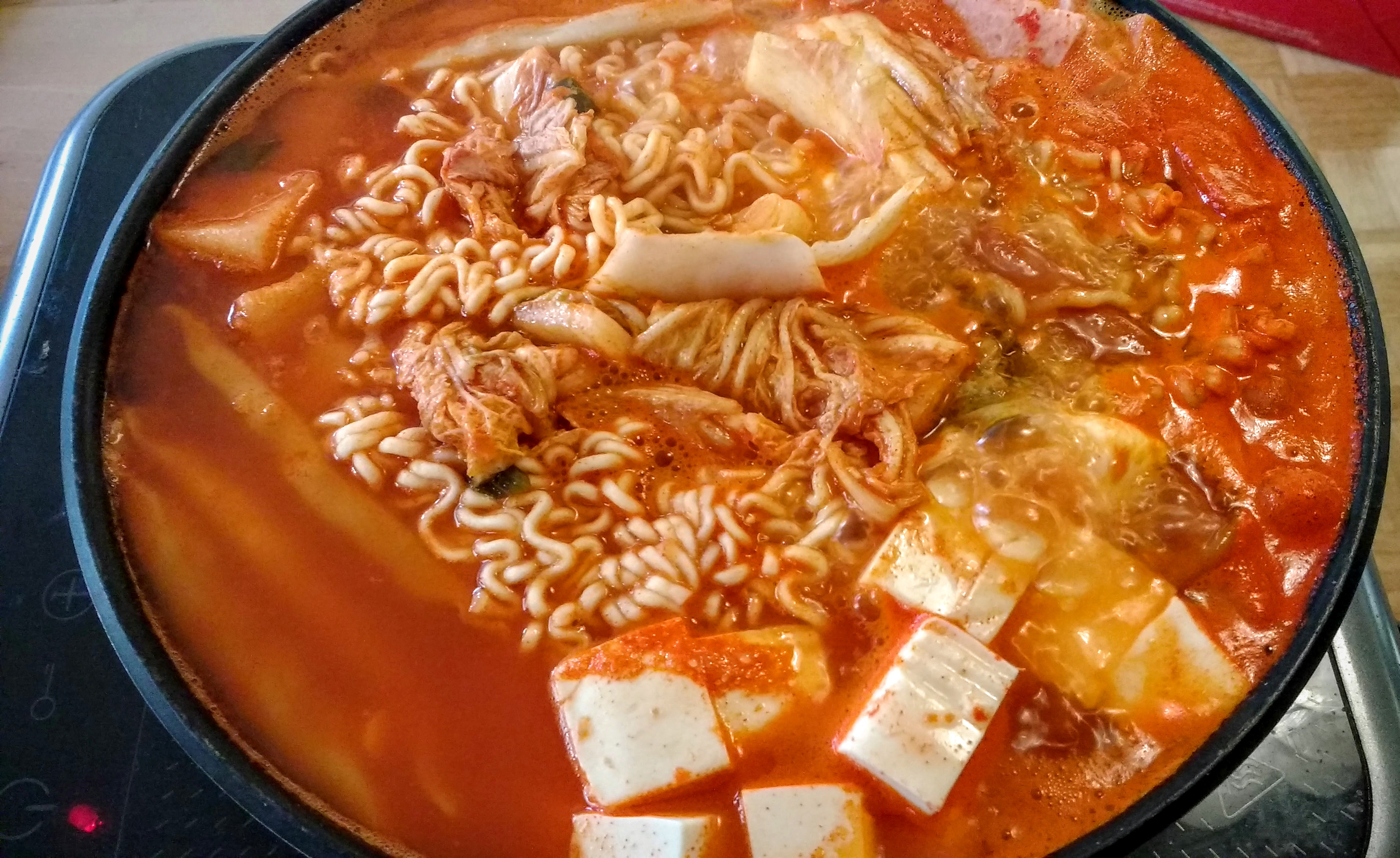 Budae Jjigae, army stew