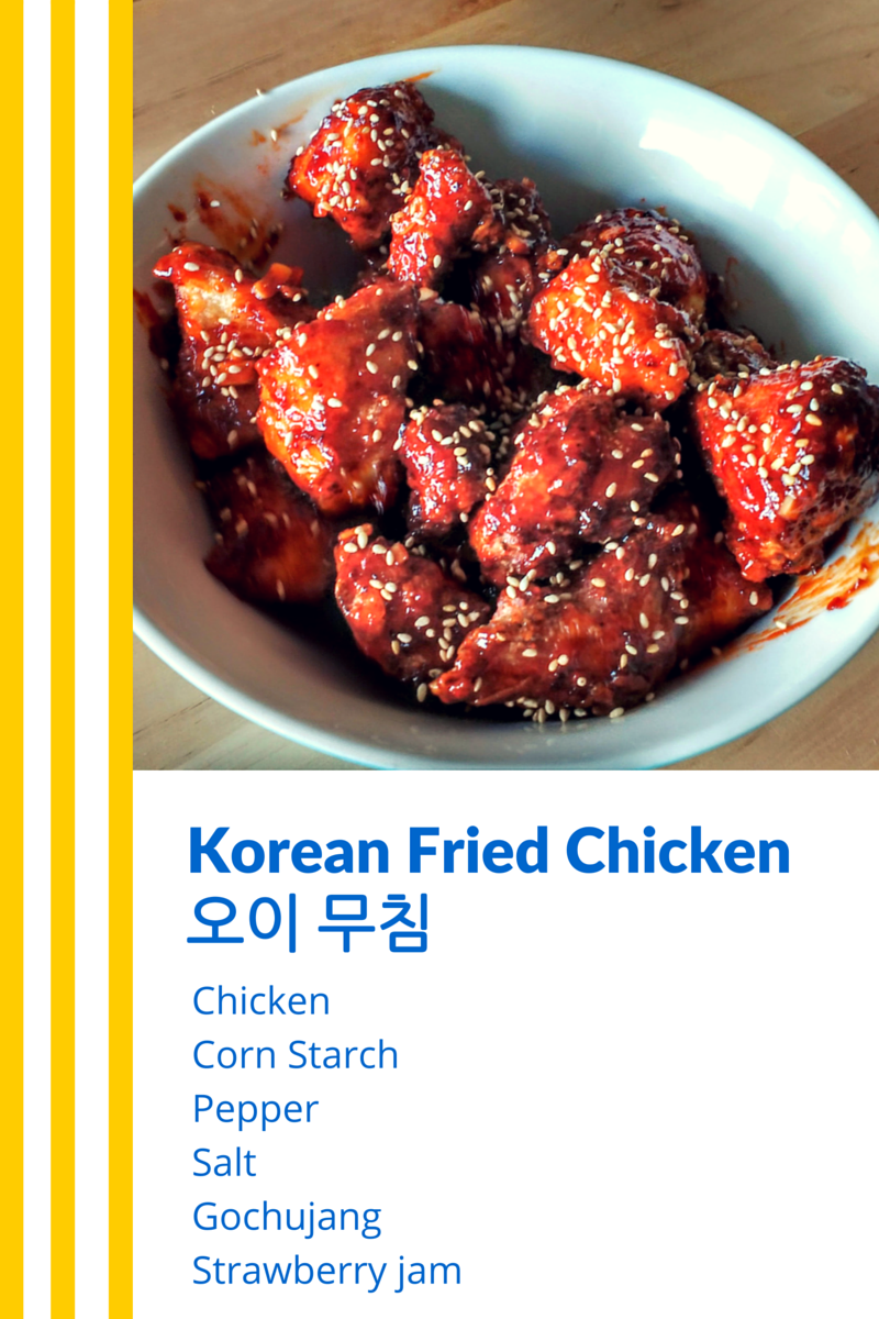 Korean Fried Chicken - Chart