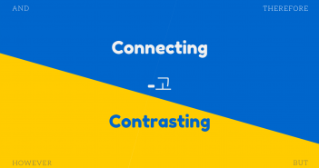 Connecting and Contrasting: -고
