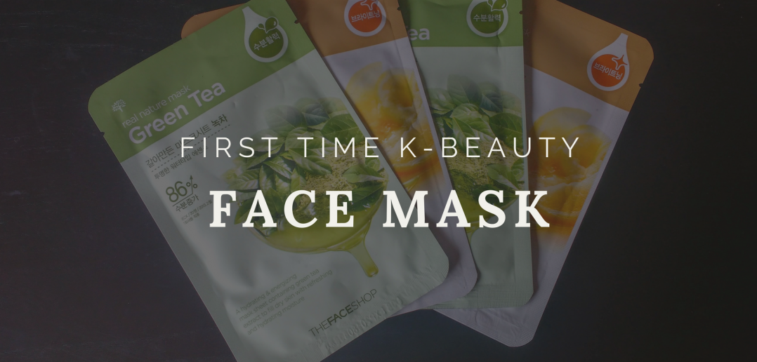 First Time K-Beauty: Face Mask