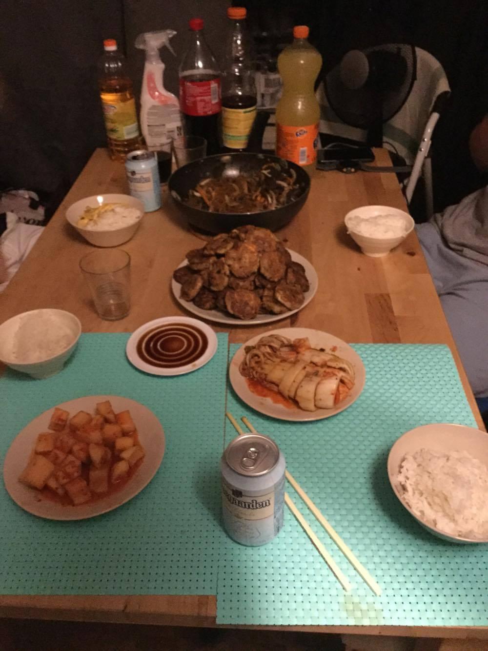 My First Chuseok Meal