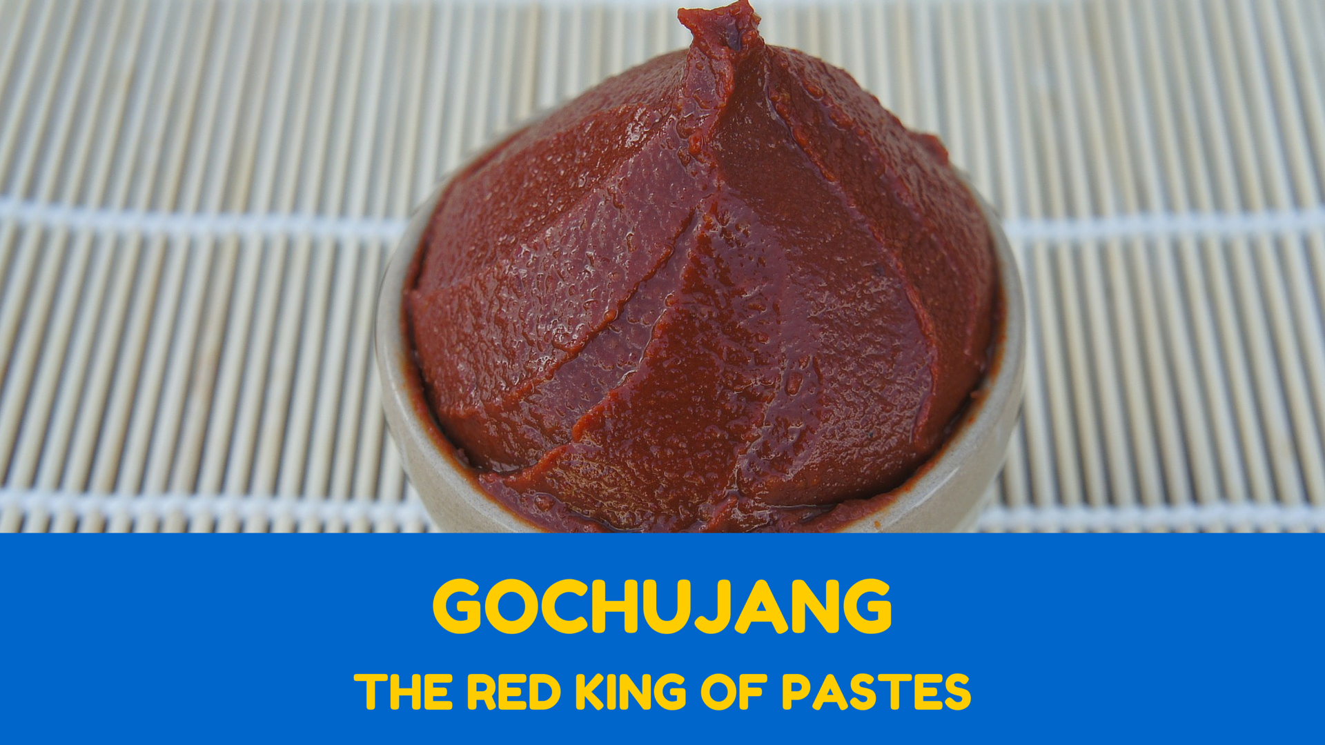 I am a difficult person when it comes to eating. I do not enjoy eating a lot of things, but sometimes I taste something and I immediately wonder where that thing has been my entire life. One of those moments was when I first tasted gochujang (고추장), Korean red chili paste.