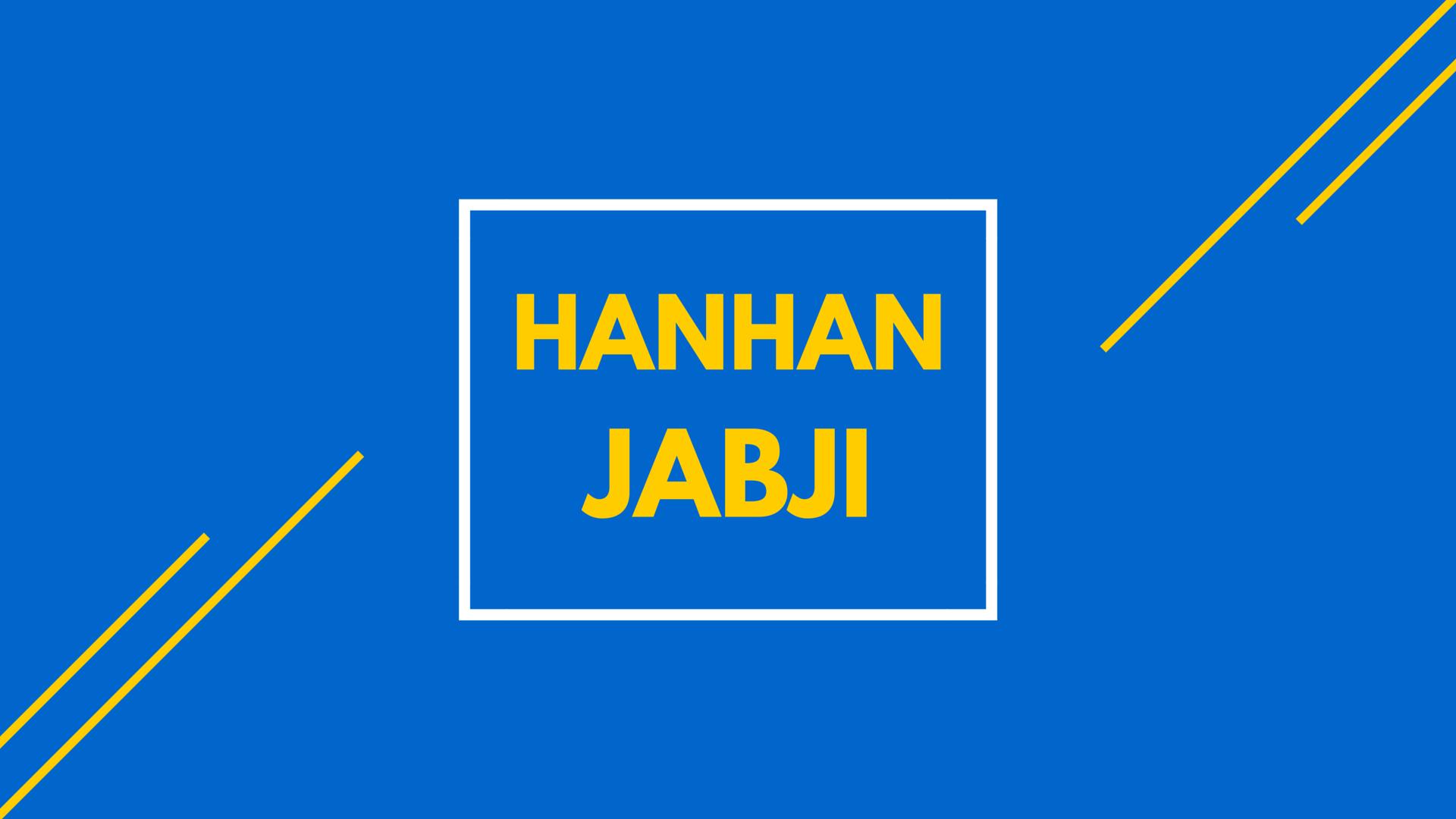 Hanhan Jabji - Passion turned Magazine