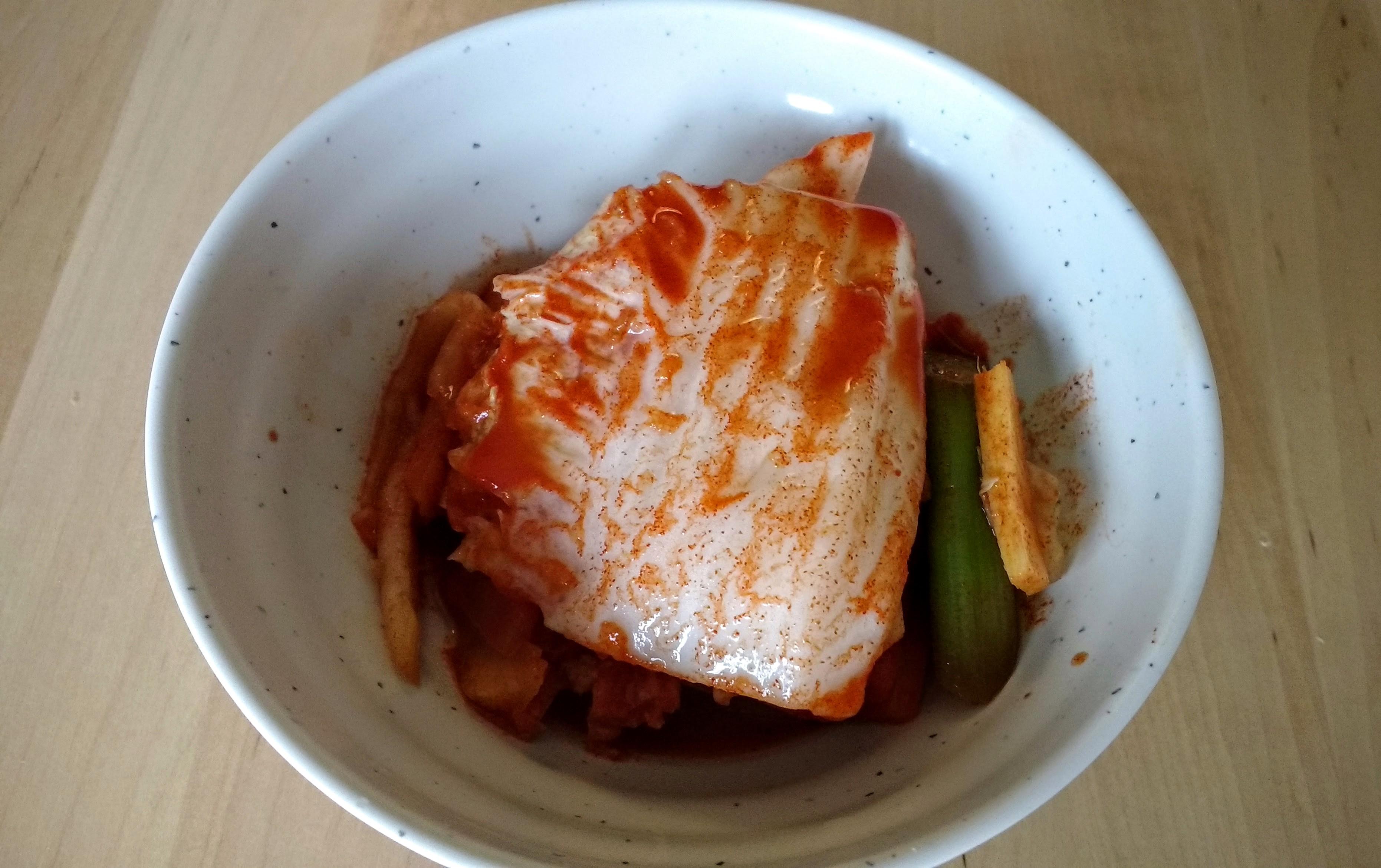 My Baechu Kimchi is ready