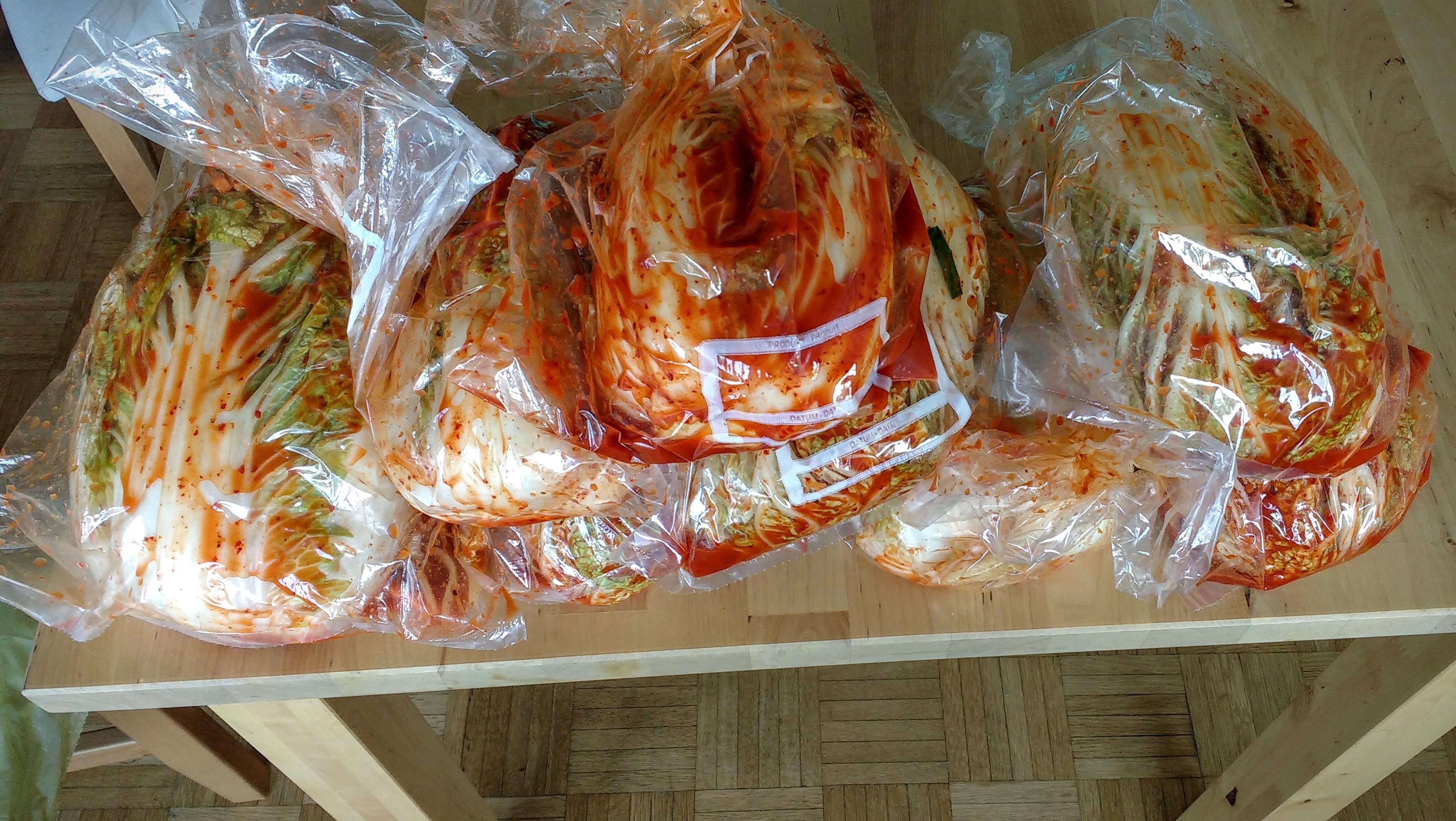 Kimchi is Ready!